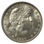 Barber Half Dollars - Barber Halves - Barber 50C