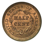 Braided Hair Half Cents
