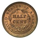 Braided Hair Half Cents