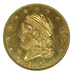 Capped Head $5 - Capped Head Half Eagle - Capped Head Five Dollar