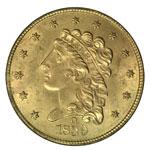 Classic Head $2.50 - Classic Head Quarter Eagle