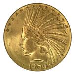 Indian Head $10 - Indian Ten Dollar - Indian Head Eagle