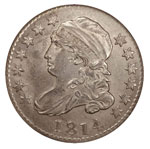 Large Size Capped Bust Dimes