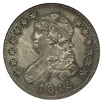 Large Size Capped Bust Quarters