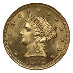 Liberty Head $2.50 - Liberty Head Quarter Eagle