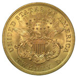 Liberty Head $20 - Liberty Twenty Dollar - Liberty Double Eagle - Twenty Dollar Lib