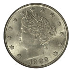 Liberty Head Five Cents - Liberty Nickel - Lib Nickel - Liberty 5C