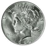 Peace Dollars - Peace $1 - Peace S$1