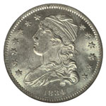 Small Size Capped Bust Quarters - Capped Bust Quarter Dollars - Capped Bust 25C