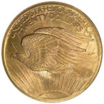 St. Gaudens $20 - Saint Gaudens Twenty Dollar - Saint Gaudens Double Eagle - Twenty Dollar Saint