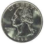 Washington Quarters - Washington 25C - Washington Quarter Dollar