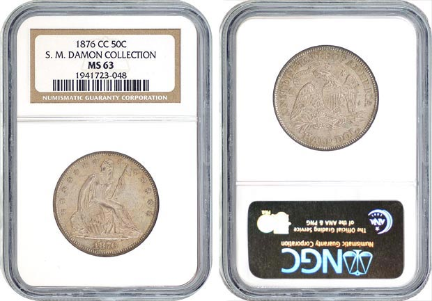 NGC - Samuel Mills Damon Collection