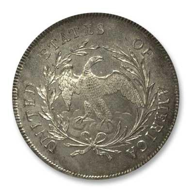 NGC -Eliasberg 1795  Silver Dollar Rev