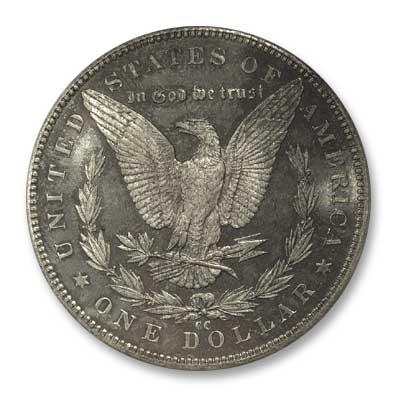 NGC -Eliasberg 1891  Silver Dollar Rev