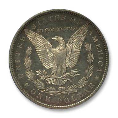 NGC - Jack Lee 1879 Dollar Rev