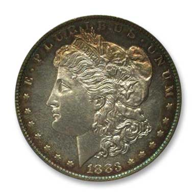 NGC - Jack Lee 1883 Dollar Obv