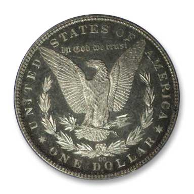NGC - Jack Lee 1884 Dollar Rev
