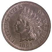 1864 L BRONZE 1C