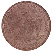 1873 CC NO ARROWS 25C