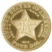 1880 FLOWING HAIR $4