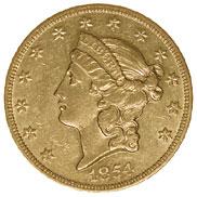 1854 O $20