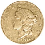 1870 CC $20