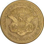 Graded SS Republic Coin - 1854-O Double Eagle R