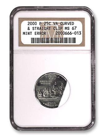 NGC - Erorrs 2000 P Virginia