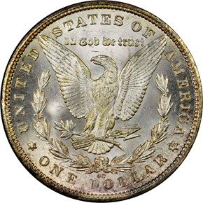 1880 CC S$1 MS reverse