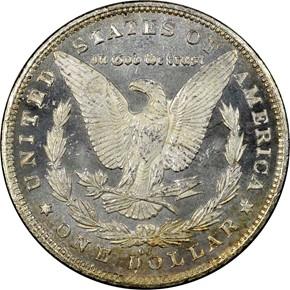 1881 CC S$1 MS reverse