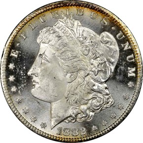 1882 CC S$1 MS obverse