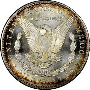 1884 CC S$1 MS reverse