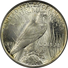 1923 D S$1 MS reverse