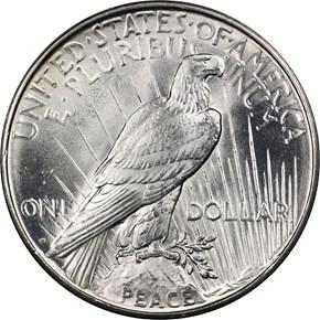 1926 D S$1 MS reverse