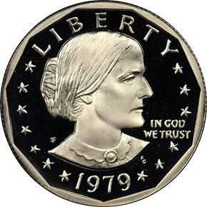 1979 S TYPE 2 $1 PF obverse