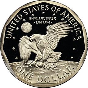 1979 S TYPE 2 $1 PF reverse