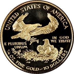 1999 W EAGLE G$10 PF reverse