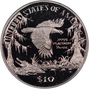 1999 W EAGLE P$10 PF reverse