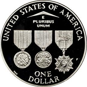 1994 P VIETNAM S$1 PF reverse