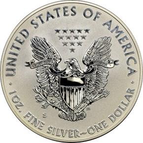 2012 S EAGLE REVERSE PF SAN FRANCISCO EAGLE SET S$1 PF reverse