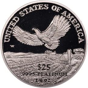 2000 W EAGLE P$25 PF reverse
