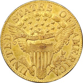 1805 $5 MS reverse