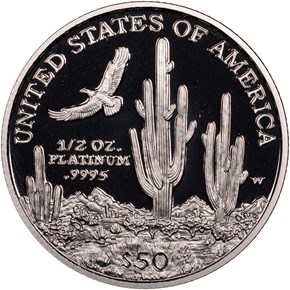 2001 W EAGLE P$50 PF reverse