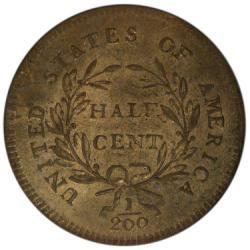 1796 POLE C-2 1/2C MS reverse