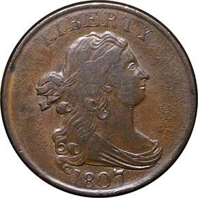 1807 C-1 1/2C MS obverse