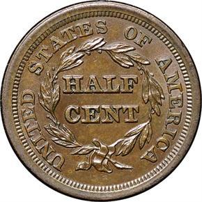 1854 C-1 1/2C MS reverse