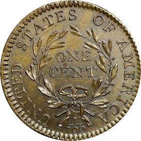 1794 HEAD OF 95 1C MS reverse