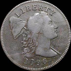 1796 LIBERTY CAP 1C MS obverse