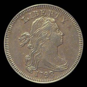 1798/7 1C MS obverse