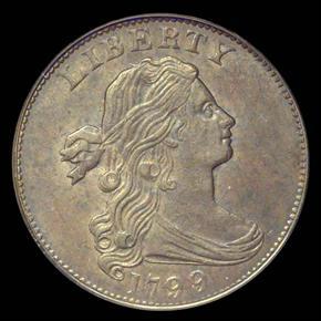 1799/8 1C MS obverse